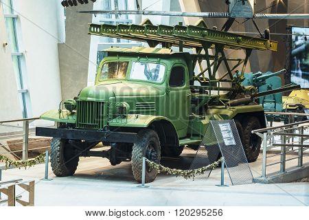 Soviet russian Katyusha rocket launchers BM-13N In The Belarusia