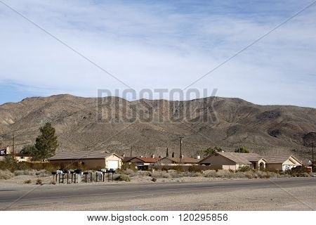 Family houses in Barstow