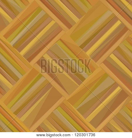 Wooden Parquet Low Poly