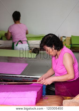 Traditional Papermaking In South Korea
