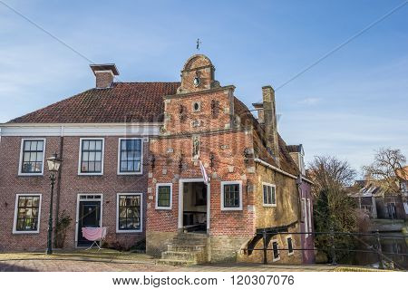 Smallest House Of Historic City Franeker