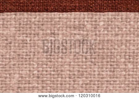 Textile Thread, Fabric Decoration, Brown Canvas, Grained Material, Dirty Background