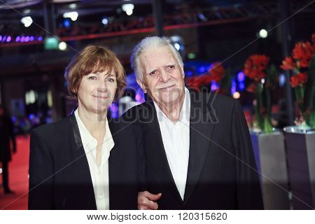 Michael Ballhaus,  Sherry Hormann attend the 'Hommage For Michael Ballhaus' during the 66th Berlinale International Film Festival Berlin at Berlinale Palace on February 18, 2016 in Berlin, Germany.