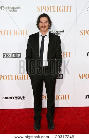 NEW YORK-OCT 27: Actor Billy Crudup attends the 'Spotlight' New York premiere at Ziegfeld Theatre on October 27, 2015 in New York City.