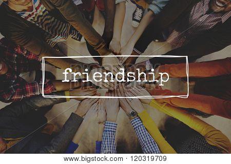 Friends Friendship Partnership Support Friendliness Concept