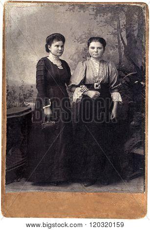 Vintage Russian Sisters.