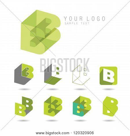 letter B set