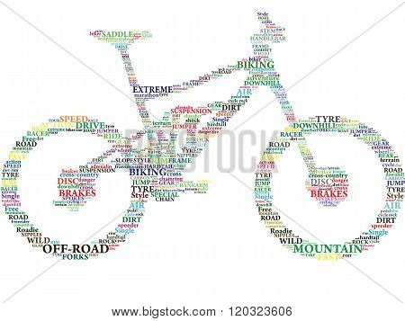 Color Words In Bike.eps