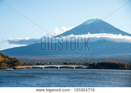 Mount Fuji At Lake Kawaguchi, Japan
