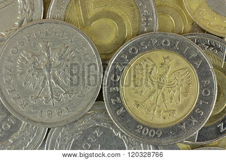 polish zloty coins