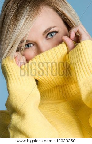 Rollkragen Pullover Mädchen
