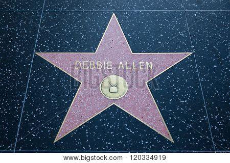 Debbie Allen Hollywood Star