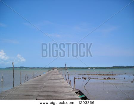 Long Stretch Of Jetty