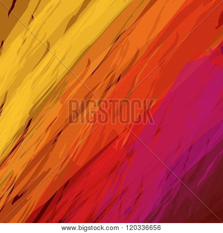 Fire bright abstract background, vector illustration
