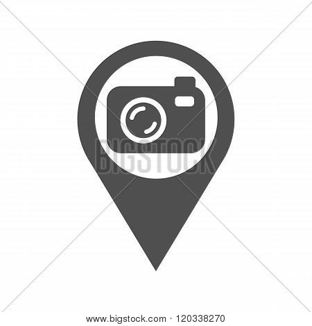 Icon Silhouette Of The Camera Shooting Place
