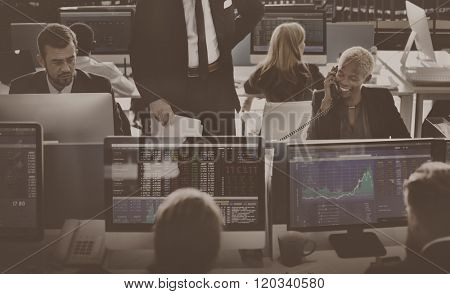 Business Team Investment Entrepreneur Trading Concept