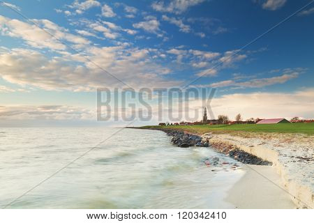 Hindeloopen Coast And Blue Sky