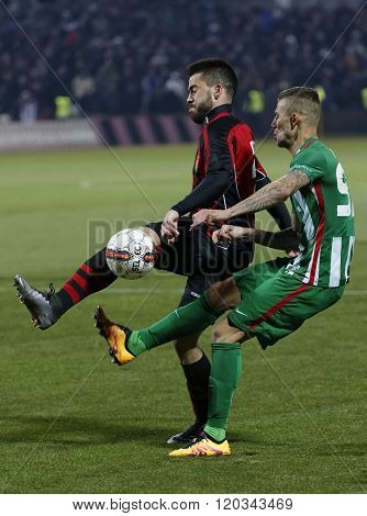 Budapest Honved - Ferencvaros Otp Bank League Football Match