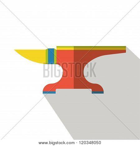 anvil flat icon