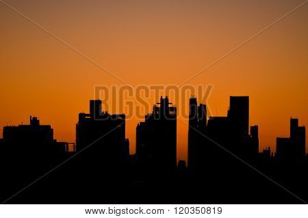 Skyline at Sunrise