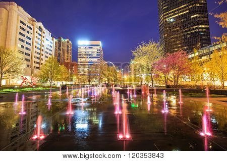 Public  Citygarden In Downtown St. Louis