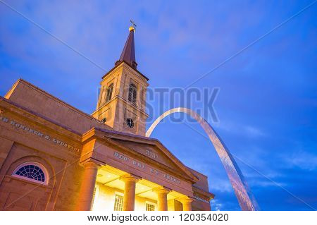 The Old Basilica Cathedral St. Louis