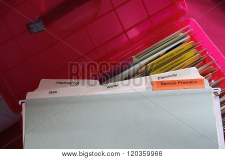 Service Providers Documents