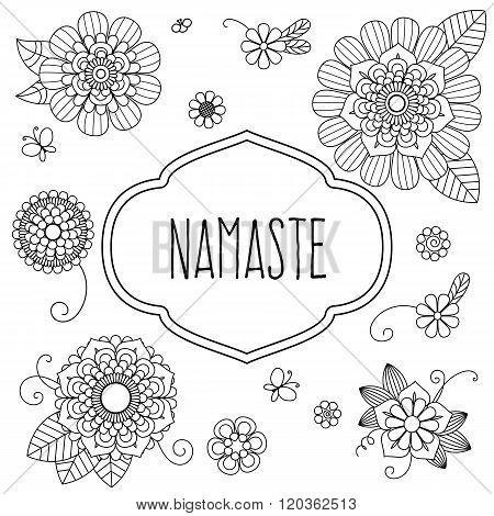 Indian Welcome Greeting - Namaste