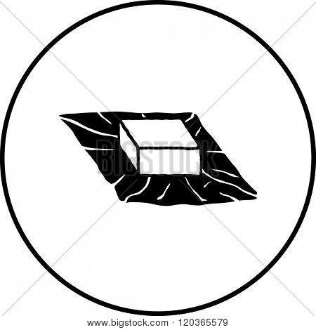 bouillon cube symbol