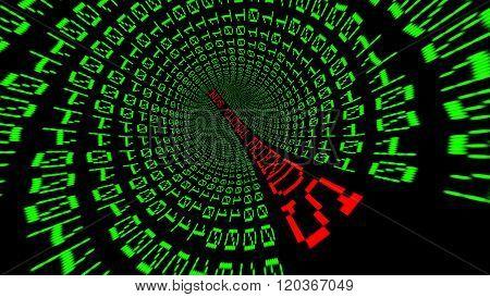 Virtual Friends Data Tunnel