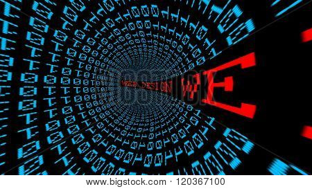 Web Design Data Tunnel