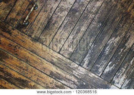 Wooden Door Abstract