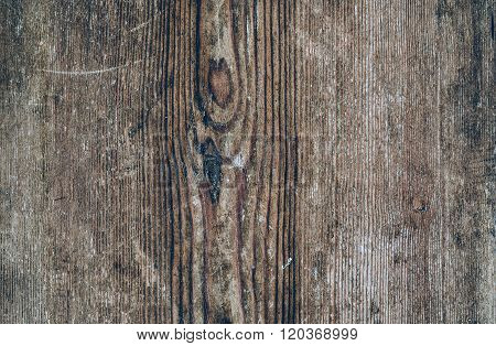 Discolored wooden texture. Vintage rustic style. Natural surface, background and wallpaper