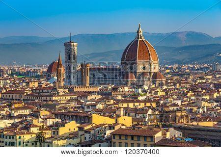 Cathedral Santa Maria Del Fiore , Florence , Italy
