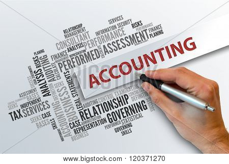 ACCOUNTING | Business Abstract Concept