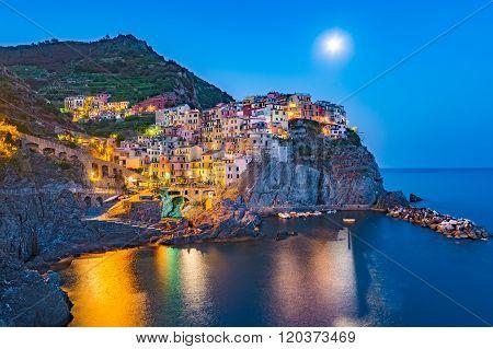 Manarola Village , Cinque Terre , Italy