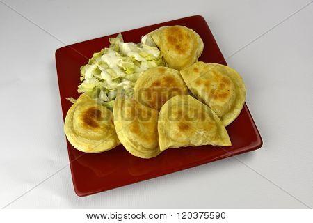 Fresh Piergoies Dumpling Appetizer