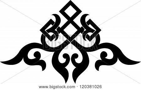 asian traditional pattern, oriental chinese ornament, black,cut  element,