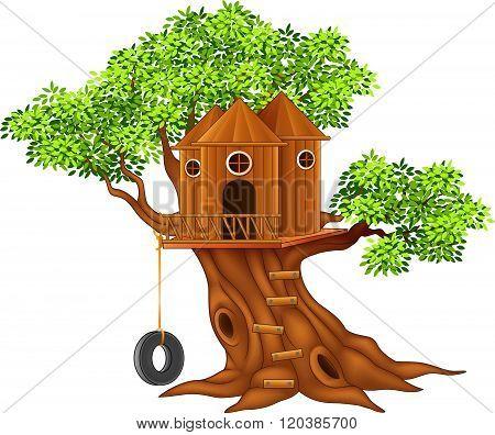 Cute small tree house