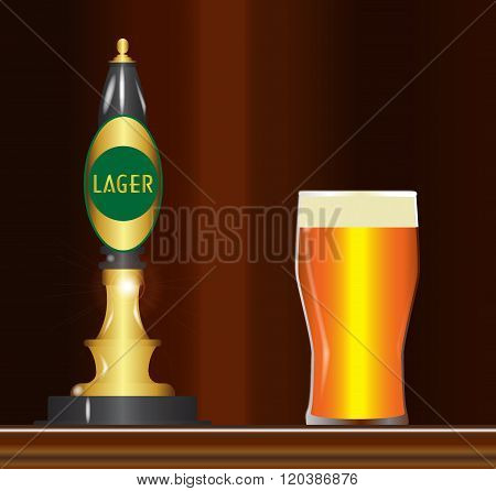 Lager On The Bar