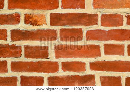 Brick Wall. Abstract Background Of The Invoice.
