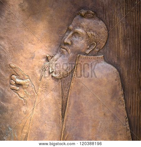Bas-relief Of Sacred Peter