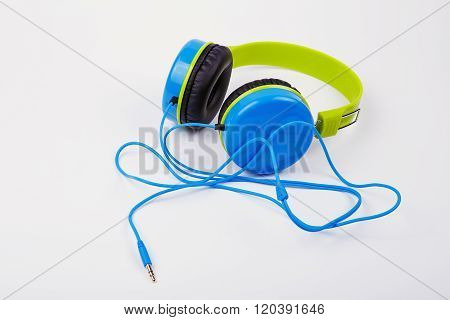Bright Colored Headphones For Children