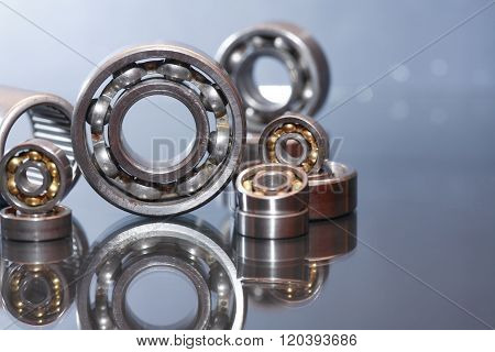 Ball Bearings On Glass