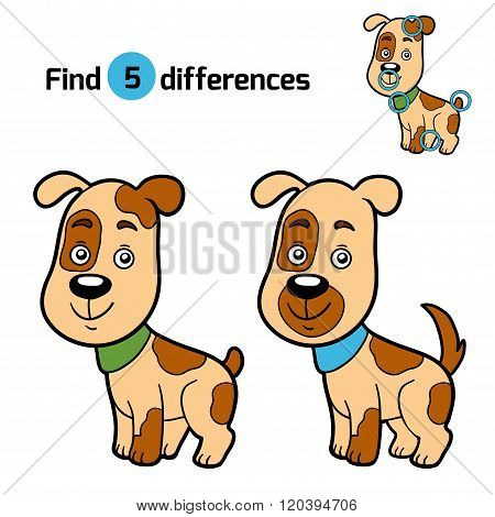 Find Differences, Game For Children (dog)