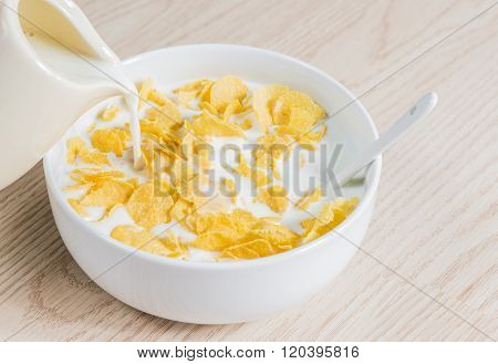 Corn Flakes With Milk