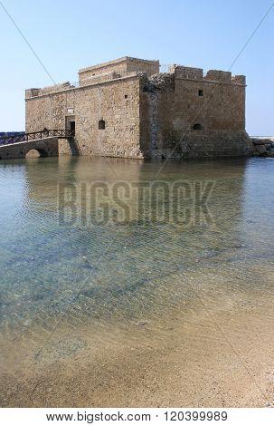 Cyprus. Paphos. Castle.