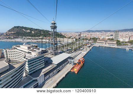 Funicular in Barcelona