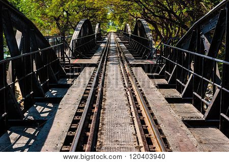 Faous Bridge On River Kwai