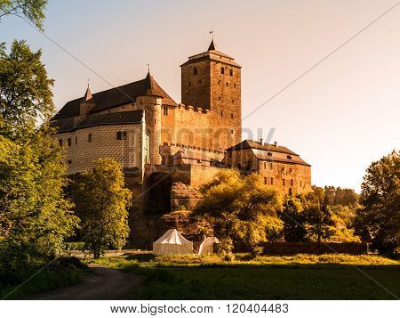 Kost Castle in Bohemian Paradise